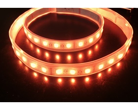 Analog RGBW LED Strip - RGB plus Warm White - 60 LED/m - ~3000K - Single Diode Version