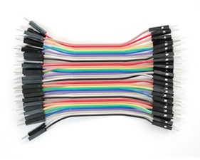 "Breadboarding Premium Male/Male Jumper Wires - 40 x 4"" (100mm)"