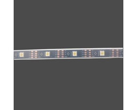 DotStar APA102 Digital LED Strip - Cool White (~6000K) - 30 LED (Black PCB) - 1m