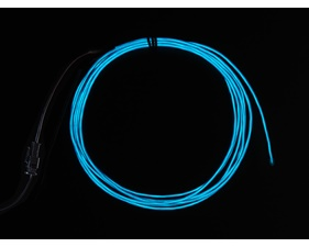 EL wire starter pack - Blue 2.5 meter (8.2 ft)
