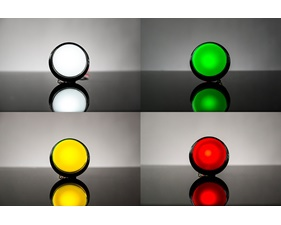 Large Arcade Button with LED - 60mm