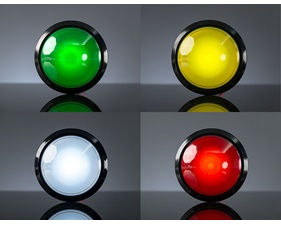Massive Arcade Button with LED - 100mm