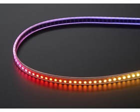 Mini Skinny NeoPixel Digital RGB LED Strip - 144 LED/m (Black PCB) - 1m