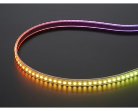 Mini Skinny NeoPixel Digital RGB LED Strip - 144 LED/m (White PCB) - 1m