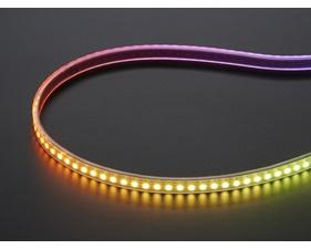 Mini Skinny NeoPixel Digital RGB LED Strip - 144 LED/m (White PCB) - 1m