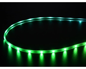 Mini Skinny NeoPixel Digital RGB LED Strip - 30 LED/m (Black PCB) - 1m