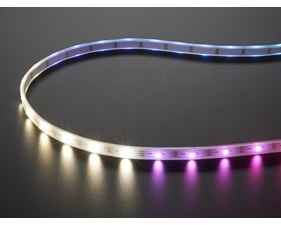 NeoPixel Digital RGBW LED Strip - White PCB 144 LED/m - 1m