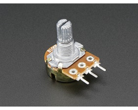 Panel Mount 100kOhm potentiometer (Breadboard Friendly)