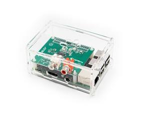 HiFiBerry case+ for DAC+ (RCA) and Digi+ (transparent)