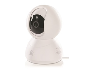 "DELTACO SMART HOME PTZ Network Camera for indoor use, 720p, WiFi 2.4GHz, IR 10m, 1/4 ""CMOS, microSD, white"