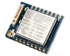 ESP-07 - ESP8266 WiFi Development Board (uFL antenna plug)