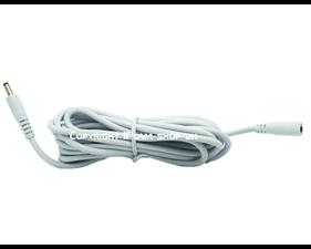 Förlängningskabel 5V till Foscam - 3m Vit