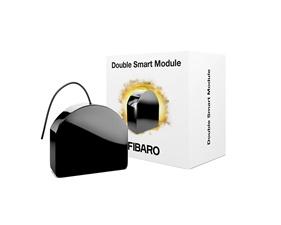 Inbyggnadsrelä 2 kanaler (potentialfria utgångar) - Double Smart Module