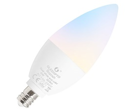 LED RGB candle light bulb E14 - Gledopto