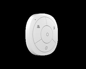 Minifjärrkontroll fyra knappar