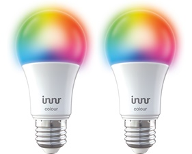 Smart Bulb Color E27 9,5W - 2 Pack