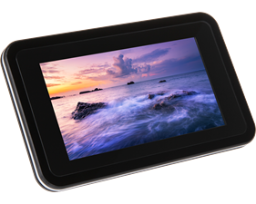 "Raspberry Pi 4 7"" Touchscreen Case"