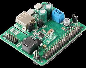 StromPi3 - Wide input 6-61V Raspberry Pi HAT