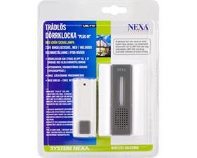Trådlös dörrklocka med ljudsignal - Nexa LML-710