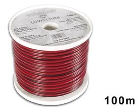 Lågspänningskabel, 2x1,5mm2, Svart/Röd