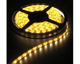 LED Warm White Weatherproof flexi-strip 60 LED/m 12V - (1 m)