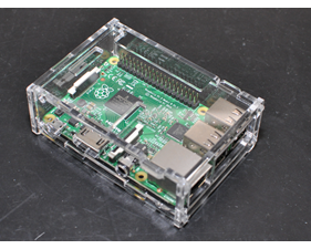 m.nu Pi Box Plus - Enclosure for Raspberry Pi Model 2/3/B+