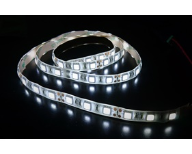 Cold White LED Strip 12V, weatherproof 60 LED/m (1 m)