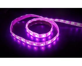 LED-slinga RGB+varmvit 12V, väderskyddad 60 LED/m (1 m)
