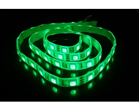 RGB LED Strip 12V, Weather proof 60 LED/m 12V (1 m)