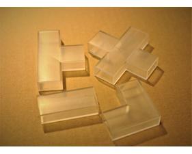 Skarvdelar i plast till aluminiumprofil för LED-list