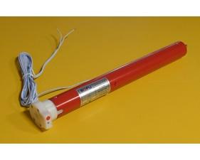 Tubmotor 24V för större rör, inbyggd 433MHz-mottagare - Tellstick och RFXTrx-kompatibel