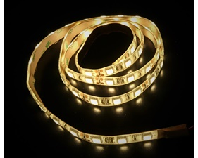 Warm White LED Strip 12V, weatherproof 60 LED/m (1 m)