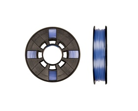 Makerbot PLA 1,75mm - Translucent Blue - Small [0,22kg]