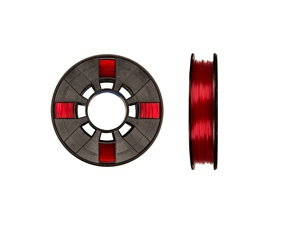 Makerbot PLA 1,75mm - Translucent Red - Small [0,22kg]