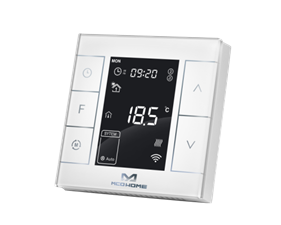 Water Heating Thermostat with humidity sensor