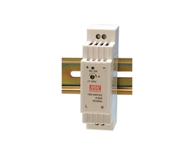 Switchat nätaggregat Din Rail - 5V 2.4A - Mean Well