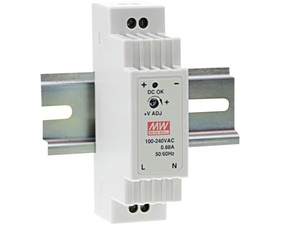 Switched power supply Din Rail - 12V 1,25A - Mean Well