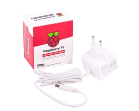 FYND Official EU Raspberry Pi 4 Power Supply (5.1V 3A)