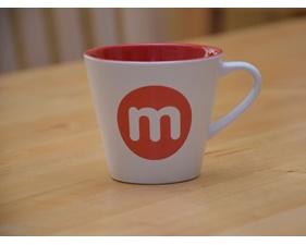 Kaffemugg m punkt nu