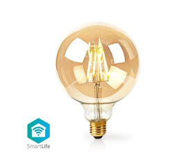 Smart Filamentlampa E27 125mm - 5W - 500 lumen - 2200K