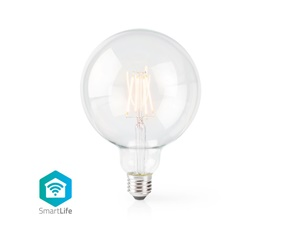 Smart Filamentlampa E27 125mm 5W 500 lumen 2700K