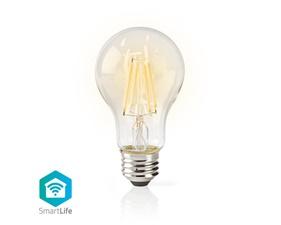Smart Filamentlampa E27 A60 - 5W  - 500lumen - 2700K