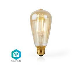 Smart Filamentlampa E27 St64 - 5W - 500lumen - 2200K