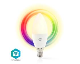 Smart LED-Lampa Fullfärg och varmvit E14 - 4,5W - 350lumen
