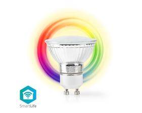 Smart LED-lampa Fullfärg och varmvit GU10 - 5W - 360 lumen