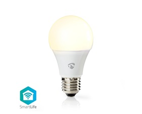 Smart LED-Lampa Varmvit E27 - 9W - 800 lumen - 2700K