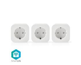 Smart Plug 10A - WiFi - 3 pack