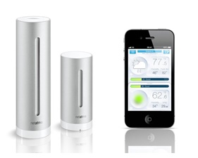 Netatmo - Advanced weather station with WiFi, Co2, dB, temperature and humidity