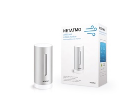Netatmo - Extra indoor sensor temperature, humidity and carbon dioxide