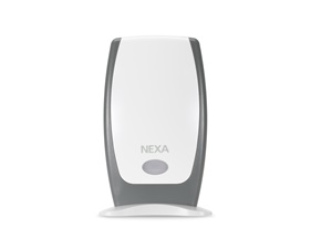 Wireless receiver delivering audio signal - battery powered - Nexa MLRR-1105